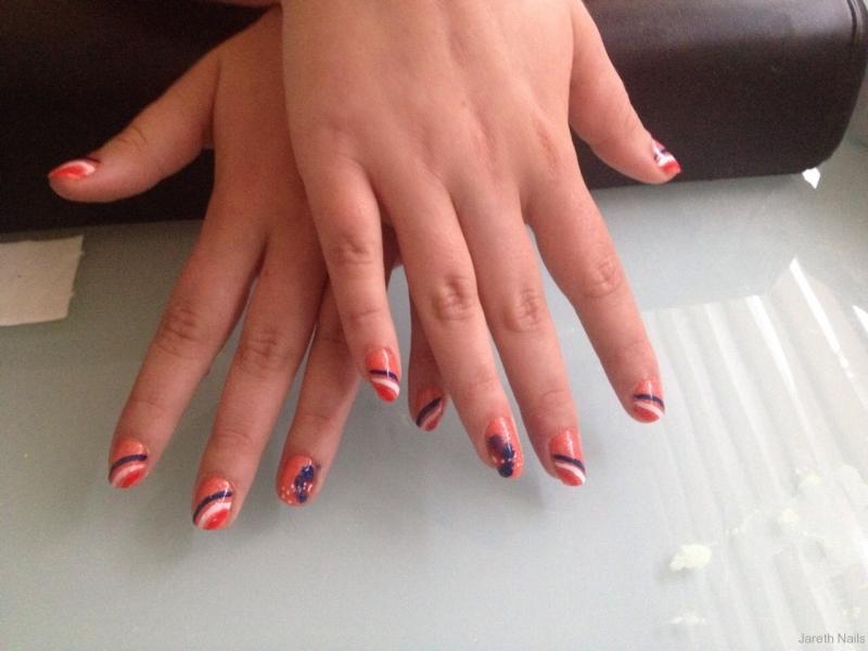 Gellak WK nagels