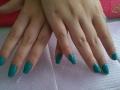 Gellak groen/blauw